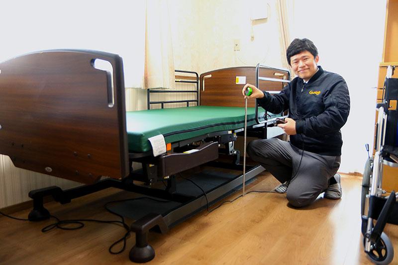 福祉用具は在宅生活を支えるひとつのサービスです。
